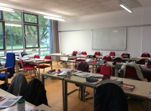 Undervisningen foregår uden elektroniske hjælpemidler